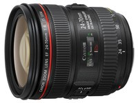 佳能EF24-70mm f/4L IS USM浙江报4550元